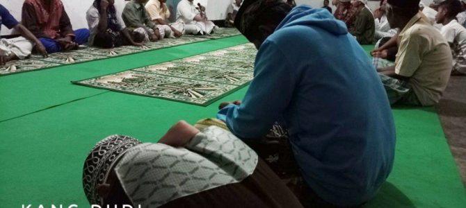 Taraweh di Masjid Nurussalam Nampar  Sepang